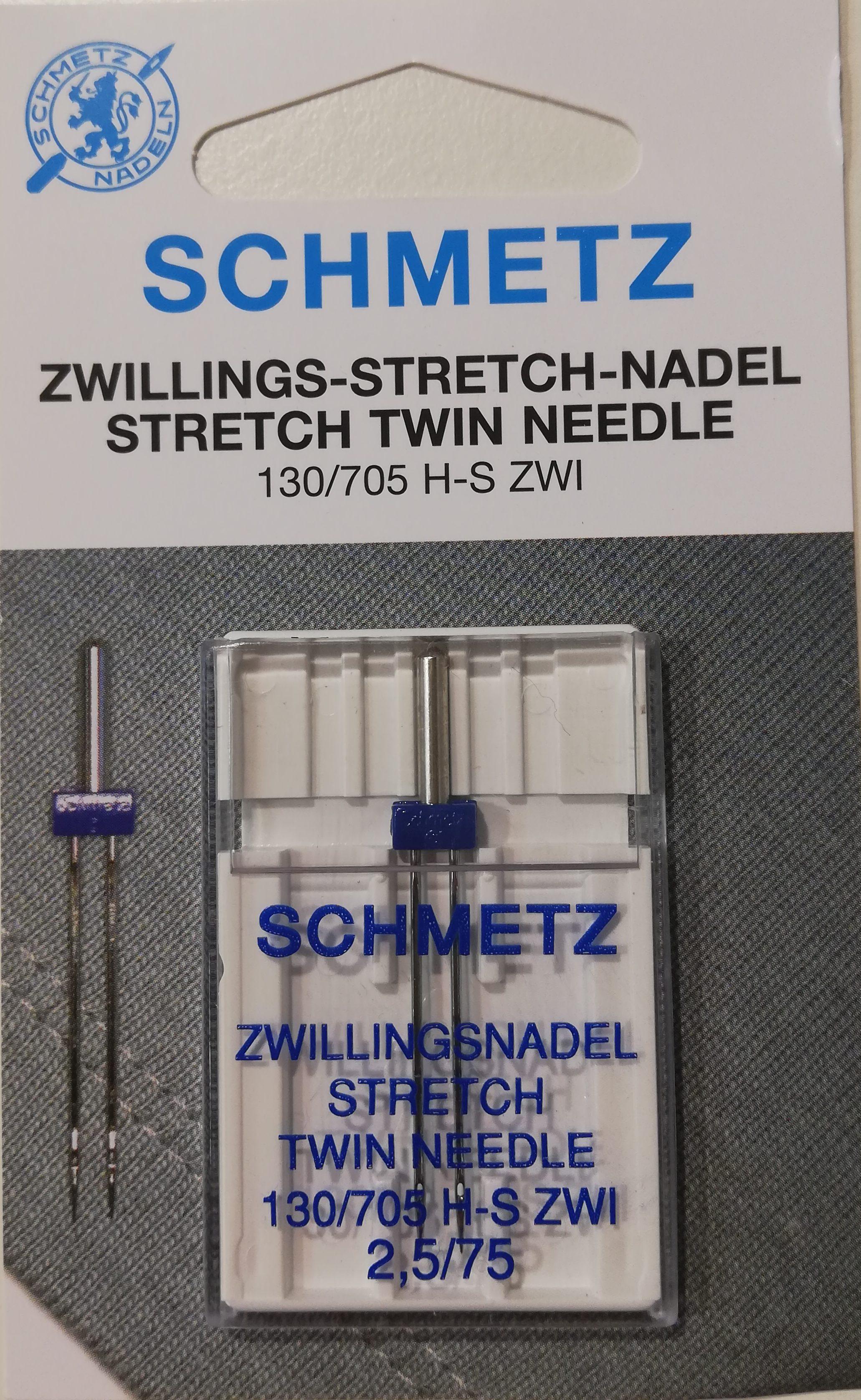 Schmetz tweeling naald stretch 2.5/75