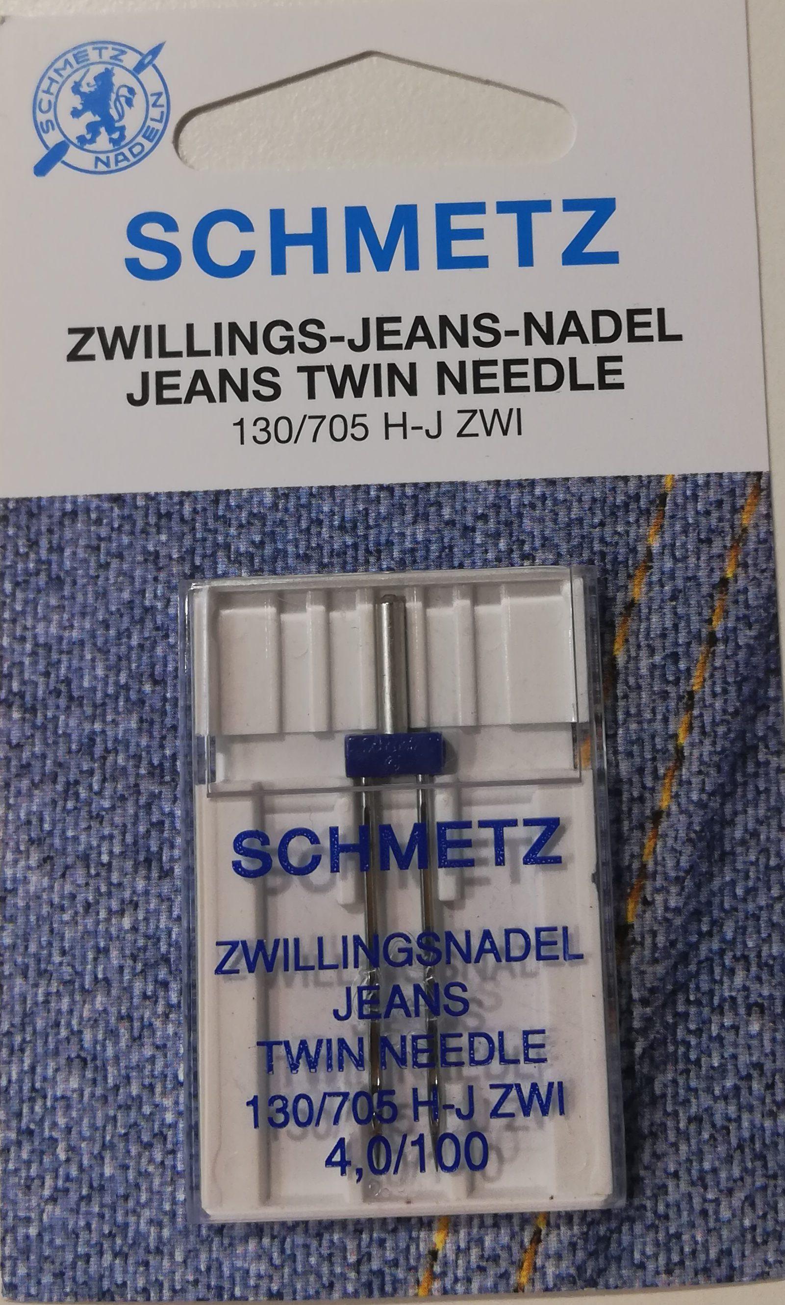Schmetz tweeling naald jeans 4.0/100