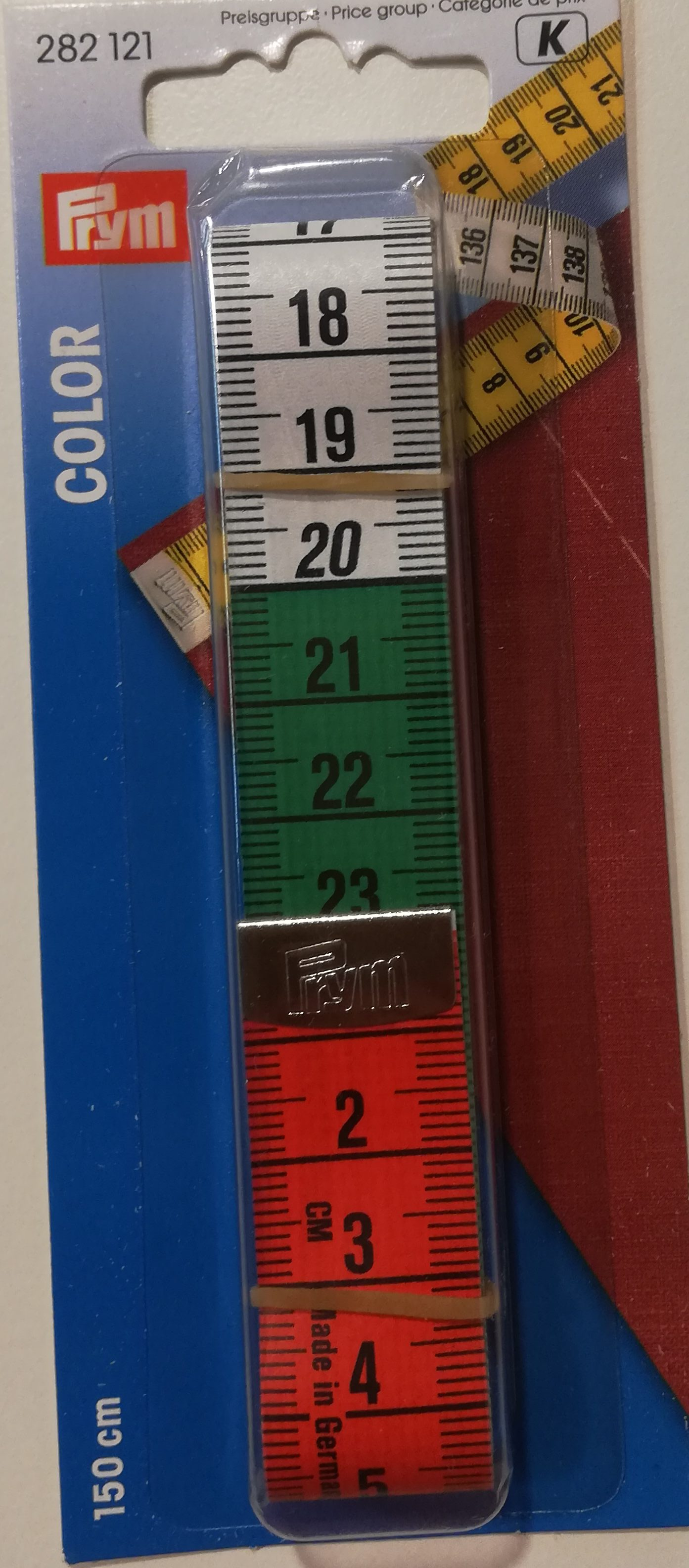 Centimeter gekleurd