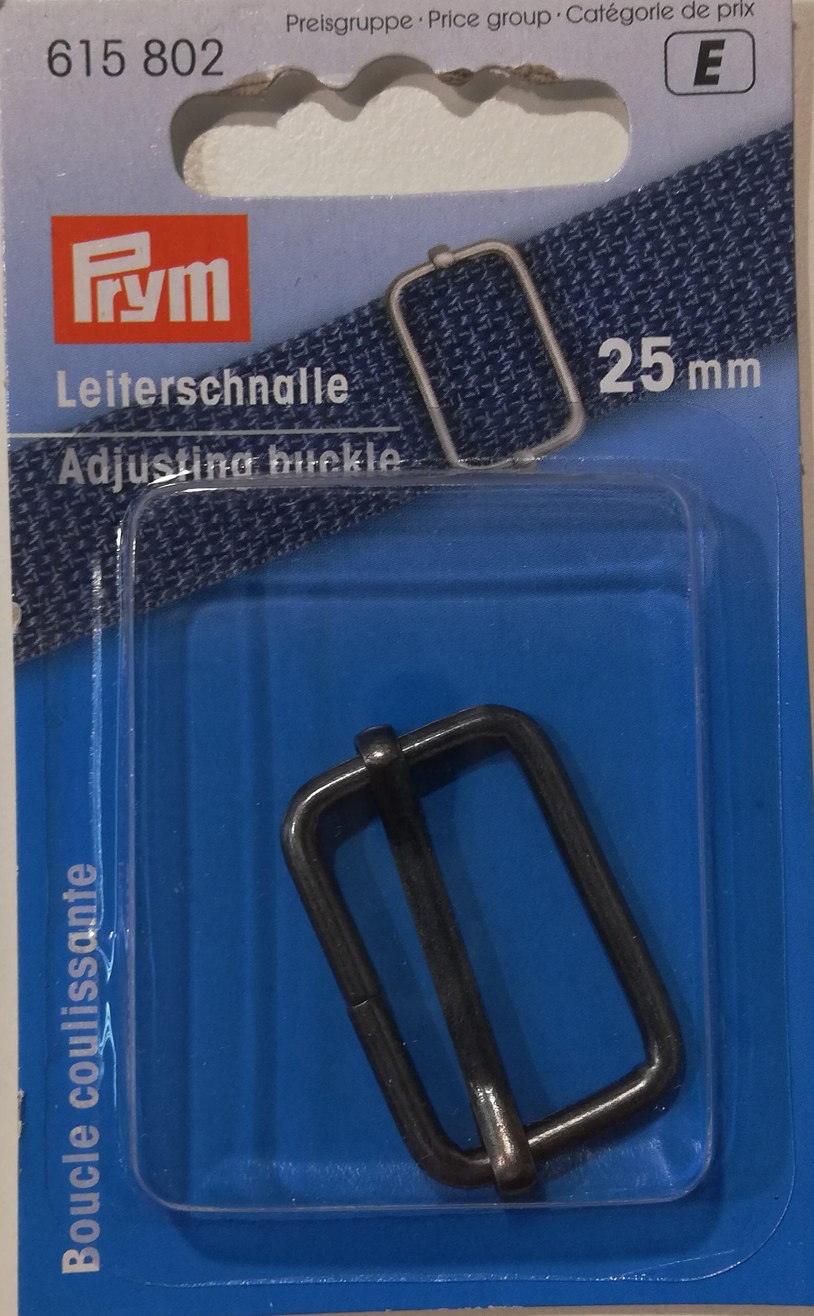 Schuifgesp metaal 25mm