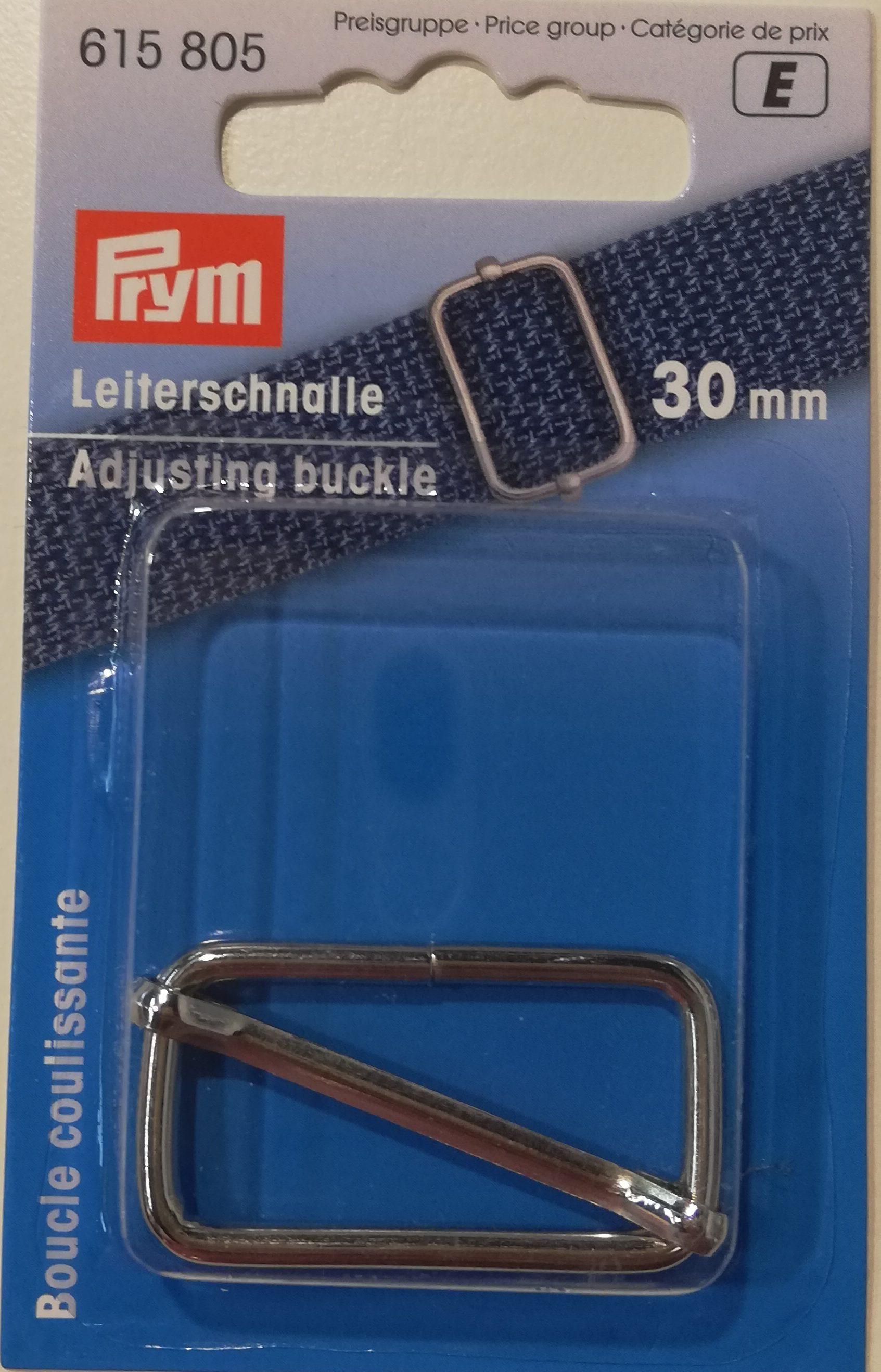 Schuifgesp metaal 30mm