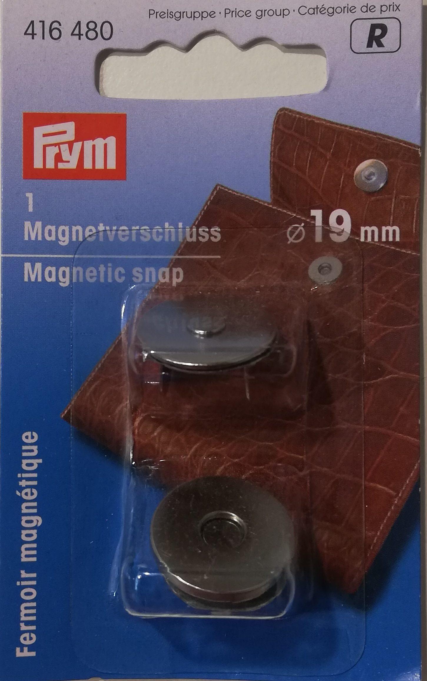 Prym opnaaibare magneetsluiting 19 mm
