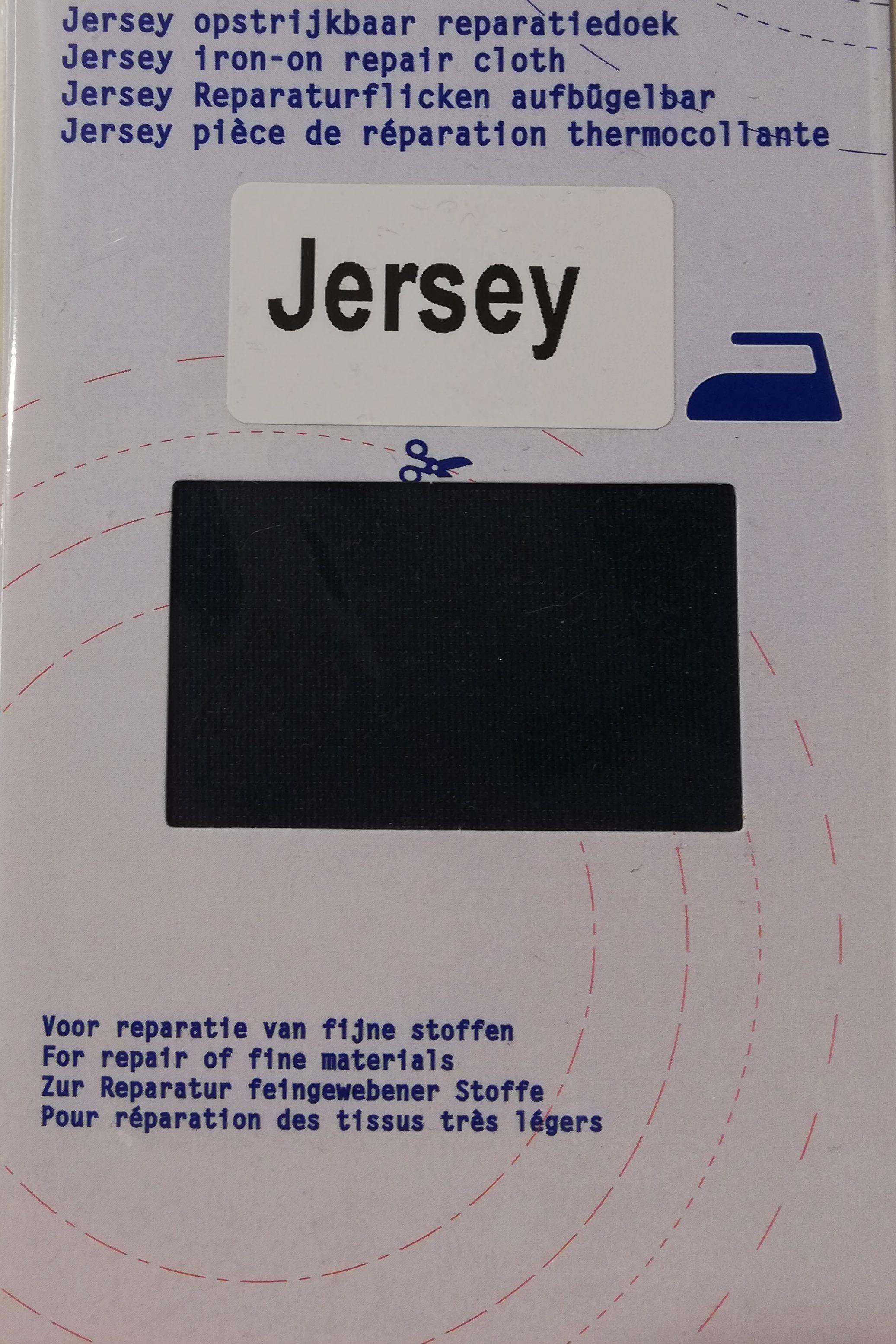 Jersey opstrijkbaar reparatiedoek