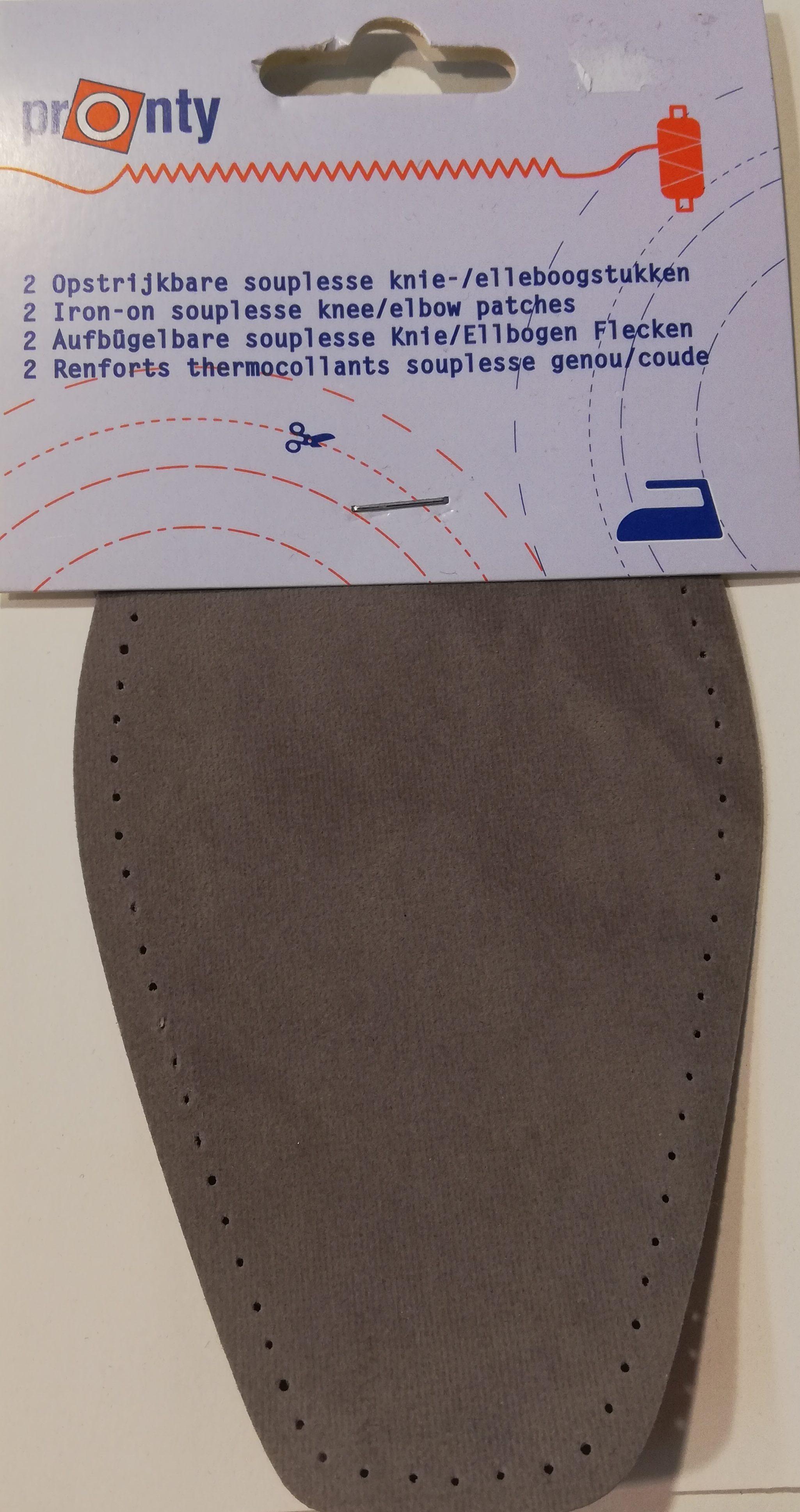 Opstrijkbare knie-/elleboogstukken