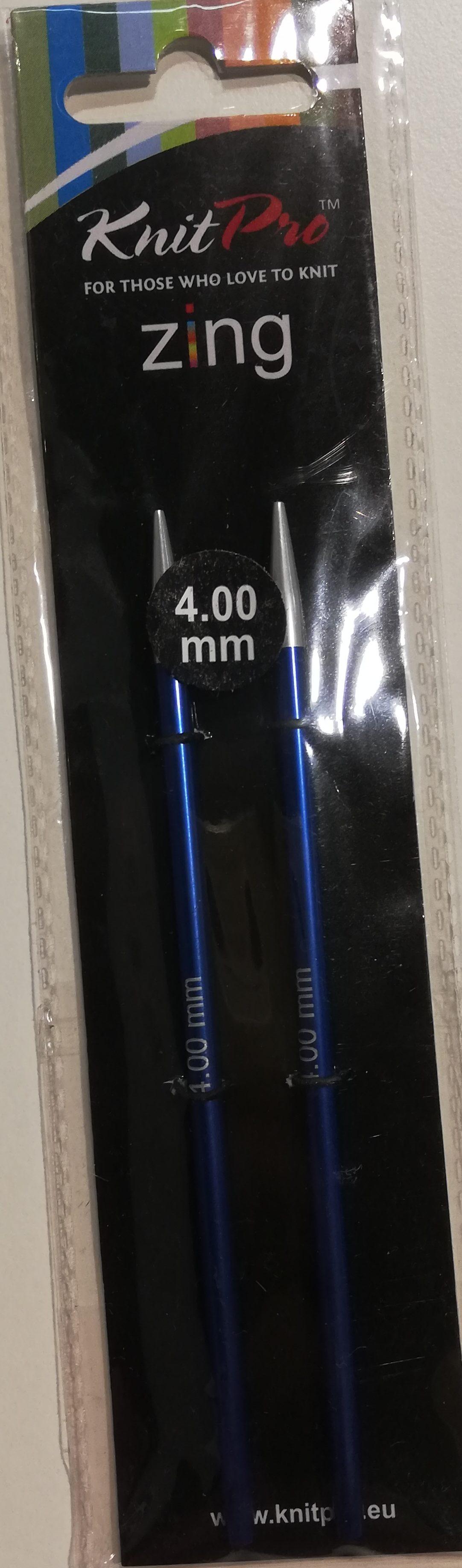 KnitPro Zing Rondbreinaalden verwisselbaar 4mm